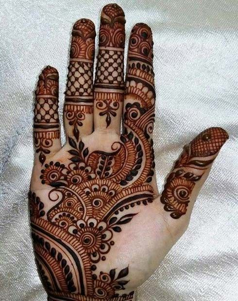 Mehandi Designs 2017 Latest
