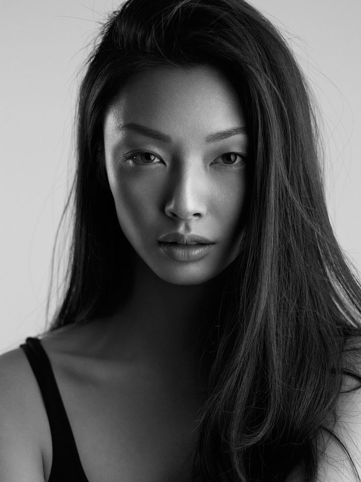 Black and white portrait of model alice ma from next canada by michael woloszynowicz on 500px photography