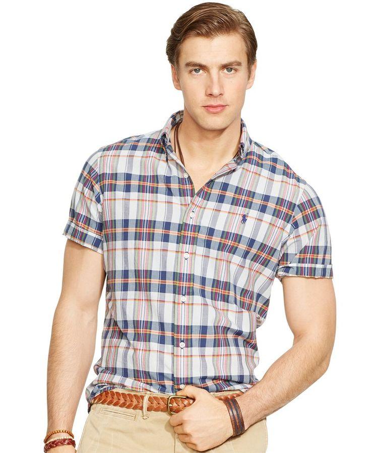 Polo Ralph Lauren Short-Sleeved Madras Shirt