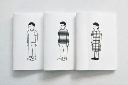 Noritake : Blank Boy / Border Boy / Block Girl