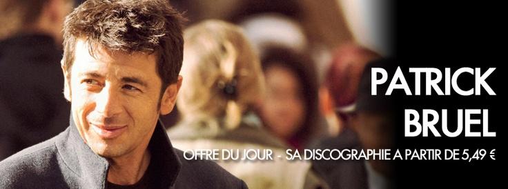 Du 1er au 31 Décembre 1 Jour = 1 Offre sur Starzik ! Découvrez aujourd'hui toute la discographie de Patrick Bruel ainsi que son nouvel album à partir de 5.49€ sur Starzik