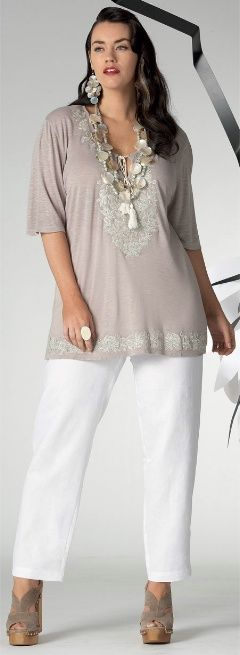 IOS PEASANT TOP## - Short Sleeved - My Size, Plus Sized Women's Fashion…