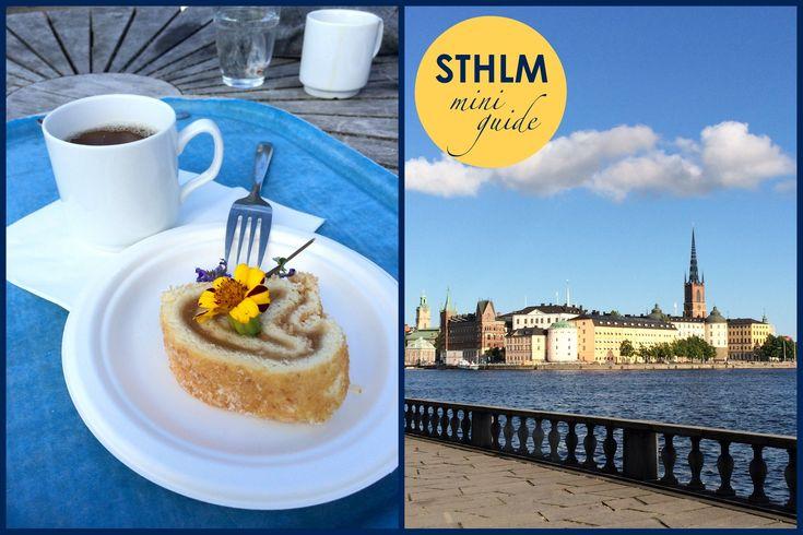 Stockholm stond al een tijd op mijn citytrip-lijst. Dus het moest er eens van komen natuurlijk. En dat het een succes was!   De Husband en ik verbleven in een klein appartement in de wijk Östermalm da