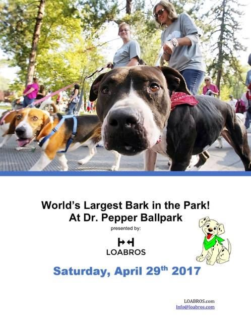 Worlds Largest Dog Day  Frisco, TX   Supports TX Coalition for Animal Protection