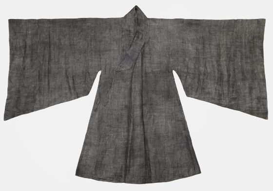 Man's Outer Robe (To-p'o) with Broad Sleeves | Korean, 18th-19th century | Chosôn dynasty, 1392-1910 | Harvard Art Museums