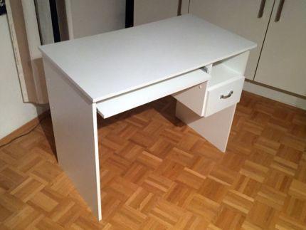 Luxury Schreibtisch mit Schublade wei in M nchen Maxvorstadt B rom bel gebraucht kaufen eBay Kleinanzeigen