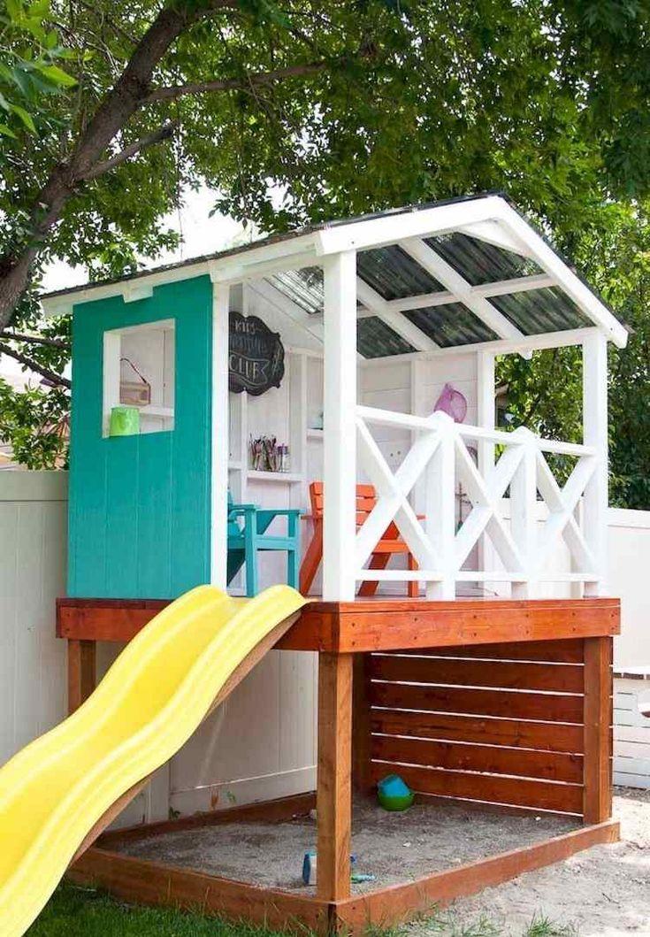Réalisez une cabane en bois sur pilotis et offrez à vos bambins des journées pleines de sourires