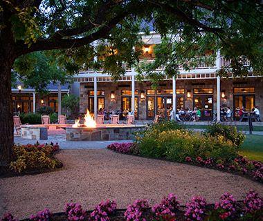 Hyatt Regency Lost Pines Resort, on the lower Colorado River outside of Austin--horseback riding, biking, spa
