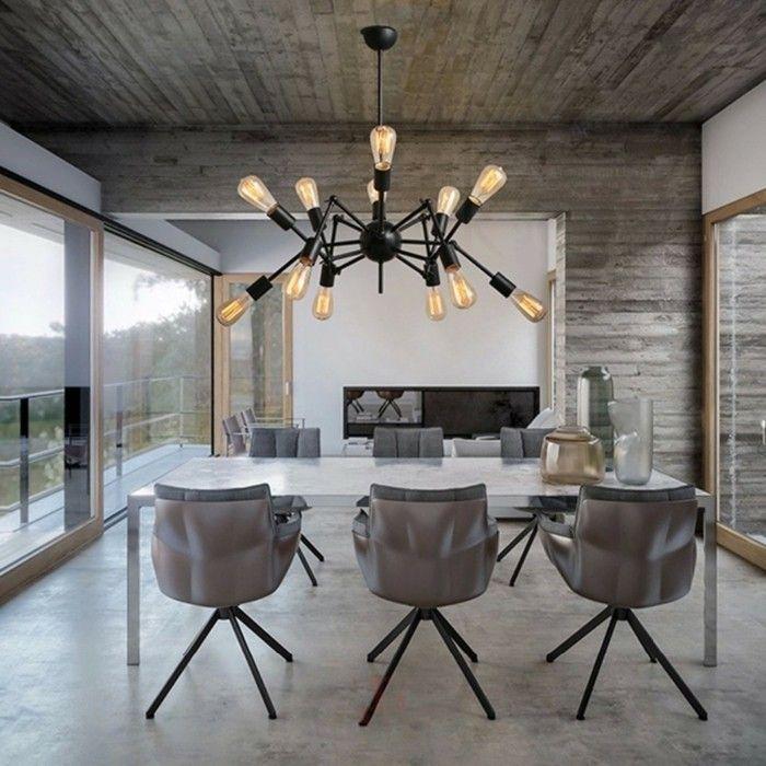 Die Deckenlampen Sind Ein Wichtiger Bestandteil Jeder Inneneinrichtung. Für  Ein Stilvolles Design Sorgen Die Deckenlampe In Der Form Von Spinne.