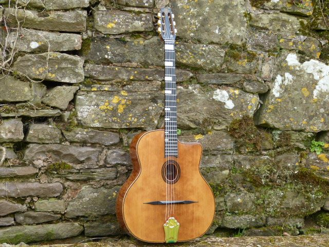 GUITARS IN PROCESS » JWC Guitars - Selmer & Gypsy Jazz Guitars
