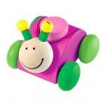 ¤ Petite  voiture / hochet /pouet. Sélecta, jouets allemands faits en Allemagne, bois écologiquement gérés, top qualité.