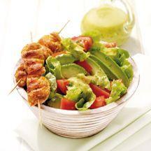 Weight Wtachers - Salade met kip en avocado - 6pt