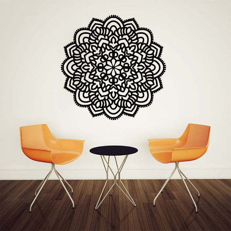 cheap home decor buy quality decoration pattern directly from china yoga stickers suppliers pinturas murais big mandala vinyl wall decal yoga sticker