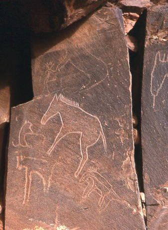 Magdalenian Ekainberri Horses – Basque Country 12,500 – 8,000 BC
