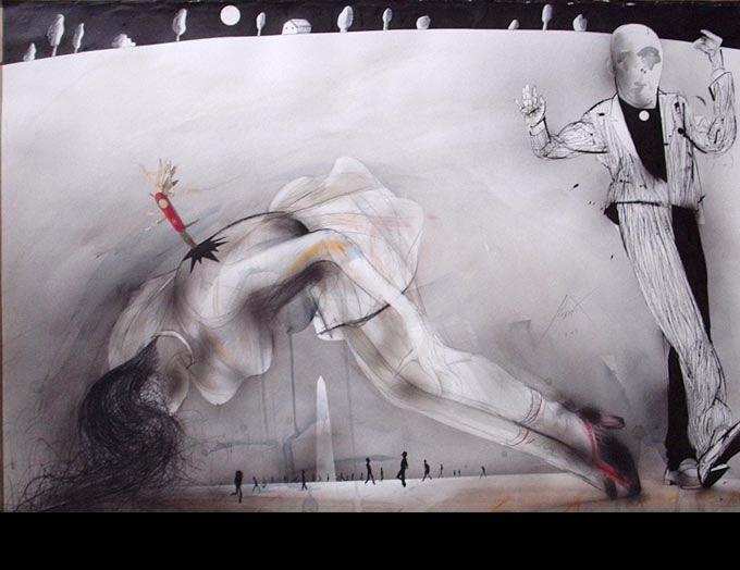 Luis Scafati - Dibujos