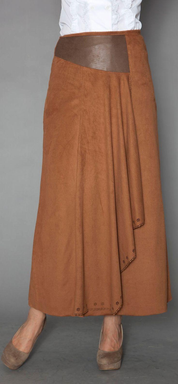 Yeni Moda Uzun Etekler | ... kemer detaylı armine uzun etek modelleri - Yeni Moda, Yeni Modelleri
