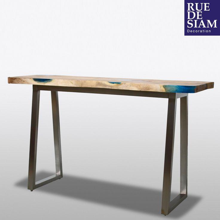 29 best rue de siam meubles design industriels images on for Meuble bureau haut
