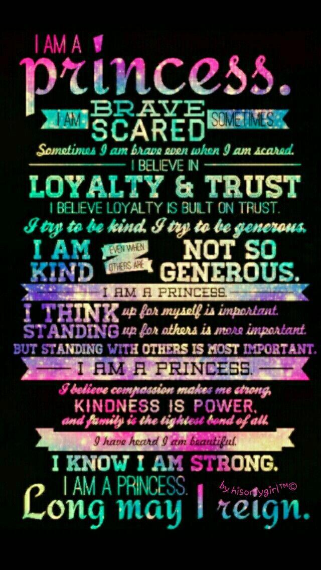 I am a princess galaxy wallpaper I created for the app CocoPPa.