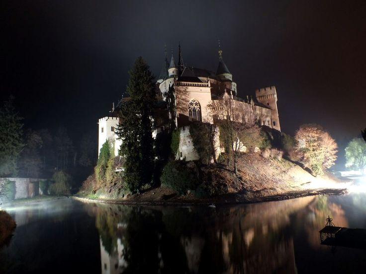 Bojnický zámok - Vyletik.eu #hrady #zamky #slovensko #slovakia #castle