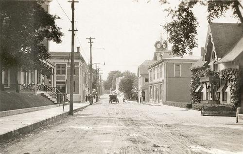 1920s Liverpool Nova Scotia NS Main Street large photo