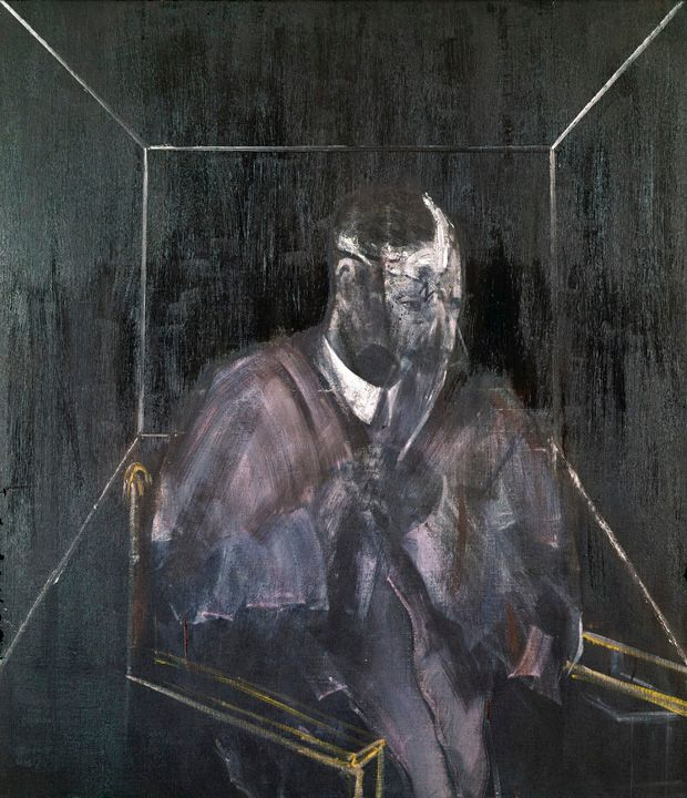 Francis Bacon, 'Man with Head Wound', 1955, © The Estate of Francis Bacon / DACS London 2014. All rights reserved.