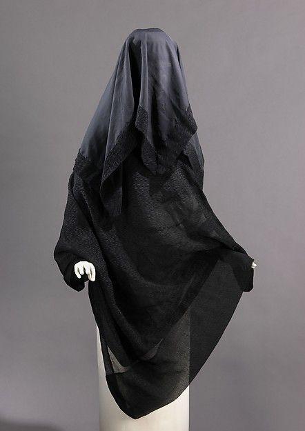 Mourning Veil 1895 The Metropolitan Museum of Art