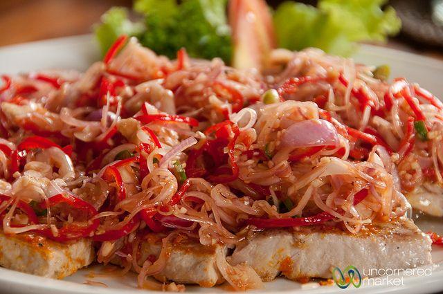 #bali #food Tuna Sambal Matah