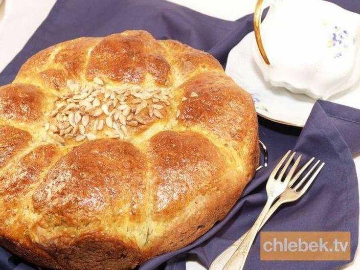 Ziemniaczany chleb z koperkiem. Światowy dzień chleba.