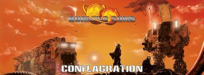 #BurningSuns #Conflagration - A novel based on the board game IP and universe. Conflict is coming!