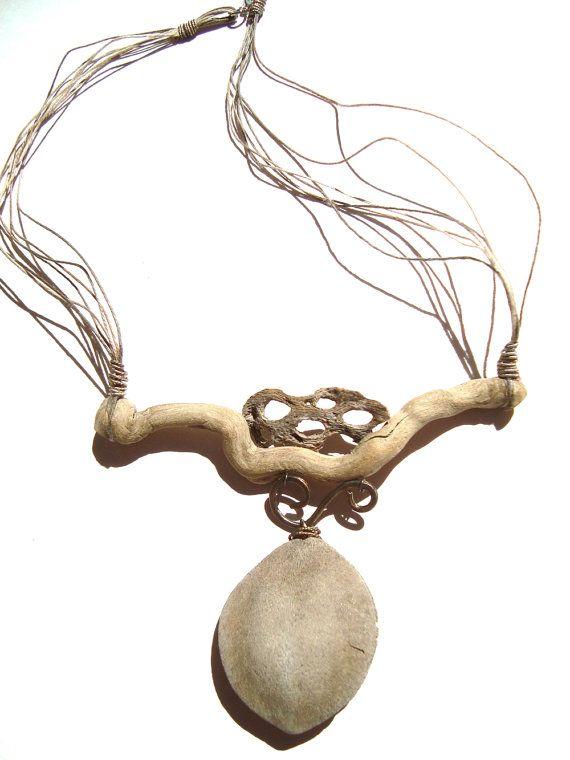 Driftwood Necklace California Dreaming by ReawakenedTreasure Cindy English Gillis-USA
