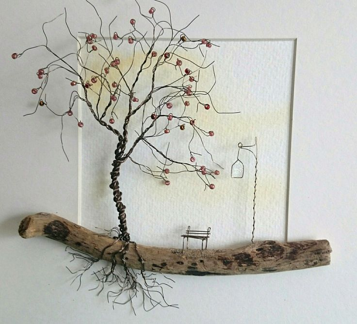 Wire Art: 'A Quiet Place'