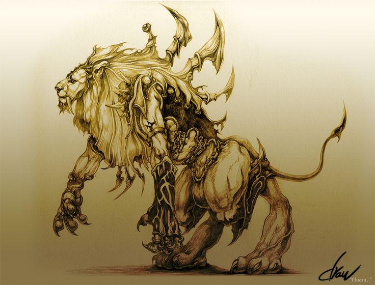 Deviantart Lion Warrior: 1000+ Images About CATS On Pinterest