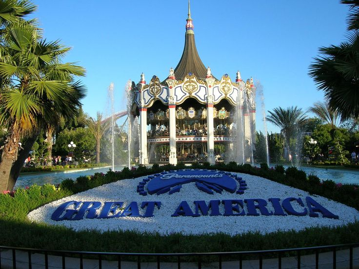 Great America, Santa Clara. Marriotts to locals from the '80s. Most of my childhood when I wasn't at the beach, we were here! Now six flags