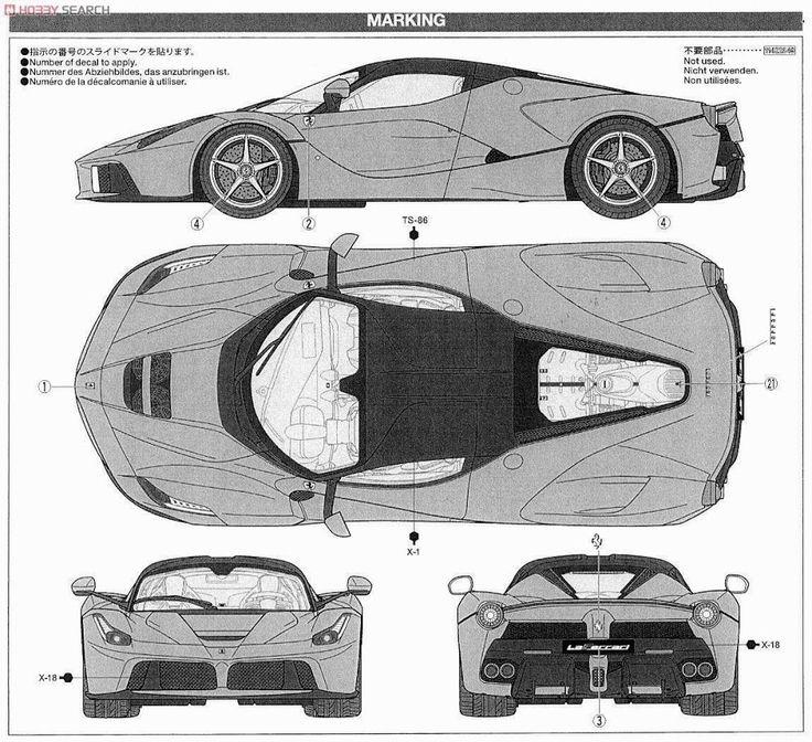 Ferrari Laferrari Smcars Net Car Blueprints Forum