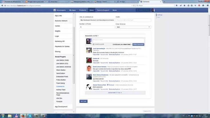 Facebook komentovaní na vašém webu