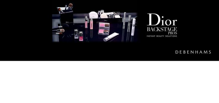 Join Dior's International Makeup Artist, Jamie Coombes on 19th March for a Makeup Demonstration in The Salon at Blythswood, Glasgow.   Discover the latest makeup tips from the catwalk and get the Backstage glow with instant beauty solutions by Dior in association with Debenhams Silverburn. Customers will also receive a luxury Dior treat.
