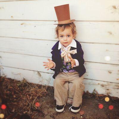 Willy Wonka child, toddler, baby costume