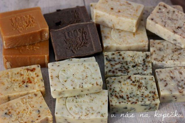 Recept na domácí mýdlo ... | U nás na kopečku | Bloglovin'