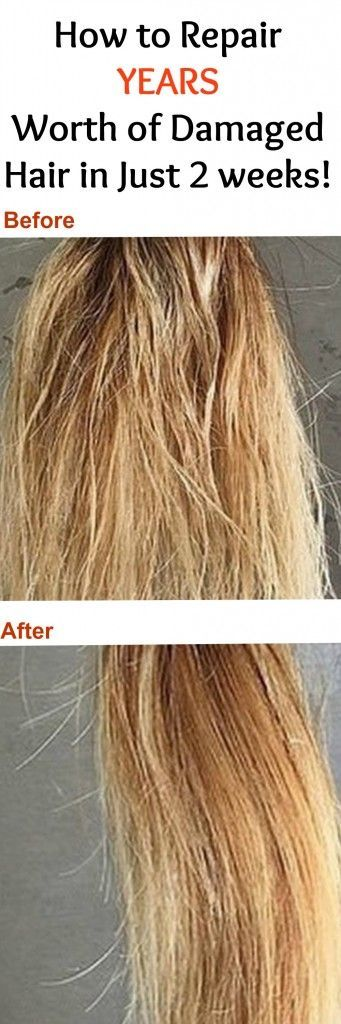This miracle hair repair will literally save your hair in 2 weeks! I had dry, extremely damaged, breaking hair, and after doing this for 2 weeks straight my hair was back to its normal, shiny state!