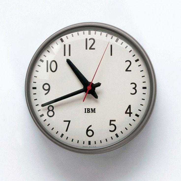 IBM / 1960s / Wall Clock