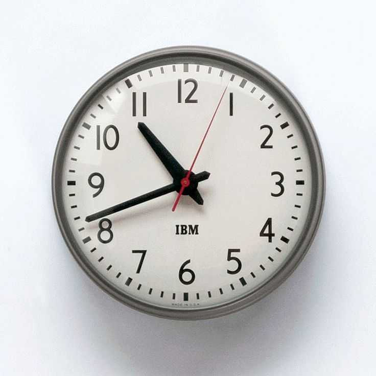IBM / 1960s / Wall Clock