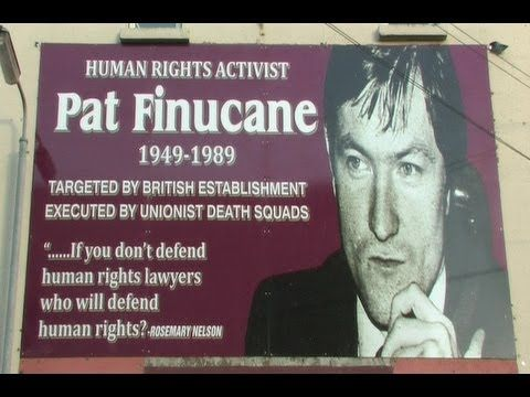 Pat Finucane - A Victim Of Britain's State-Sponsored Terrorism In Ireland