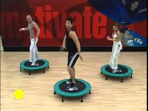 Simple quick workout. Good when you dont feel like working out.   PT Bouncer Rebounder - Complete Body Workout Section 1.flv
