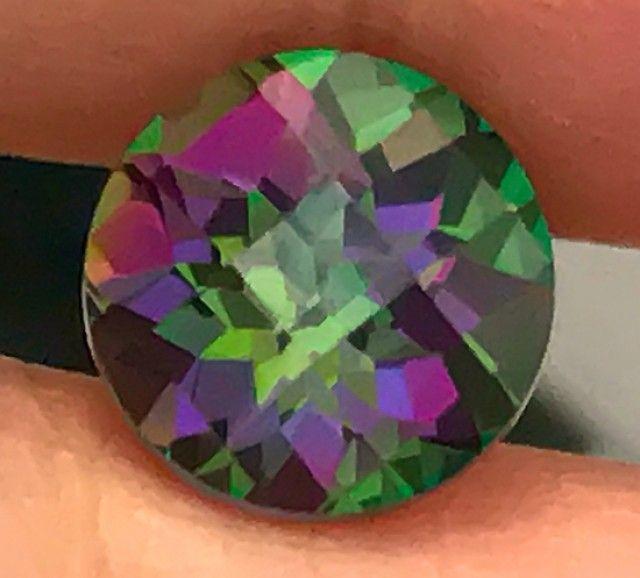 4.80ct Azotic Mystic Rainbow Topaz  VVS gem No Reserve
