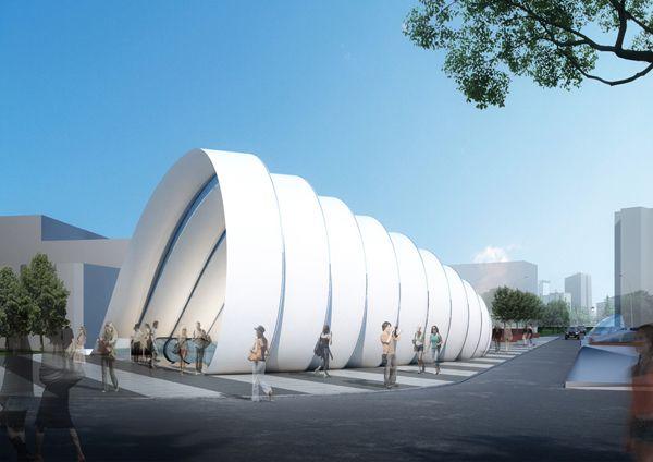 Metro Station Peter Ruge Architekten-1