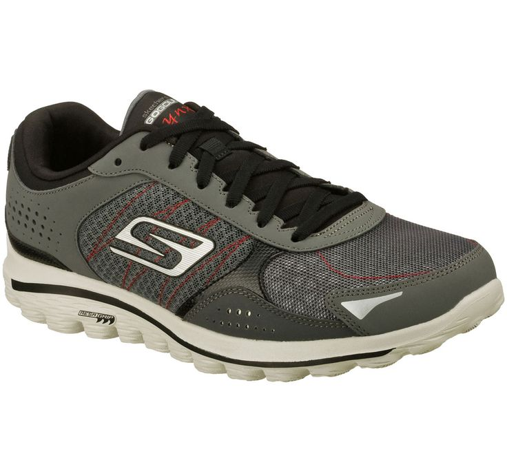 Energize your game with the Skechers GOwalk 2 Golf - Lynx featuring GOga Mat Technology with high-rebound cushioning.  Designed with advanced Skechers Performance technology and materials specifically for walking and golf.  Leather, mesh and synthetic upper is water resistant.