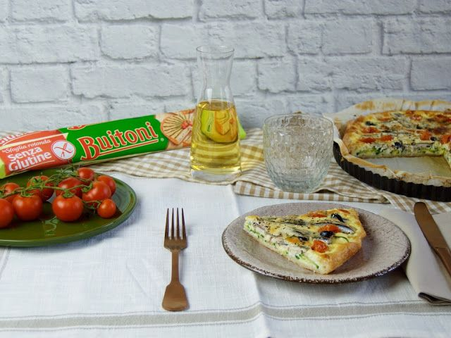 Innamorarsi in cucina: Torta salata mediterranea senza glutine!