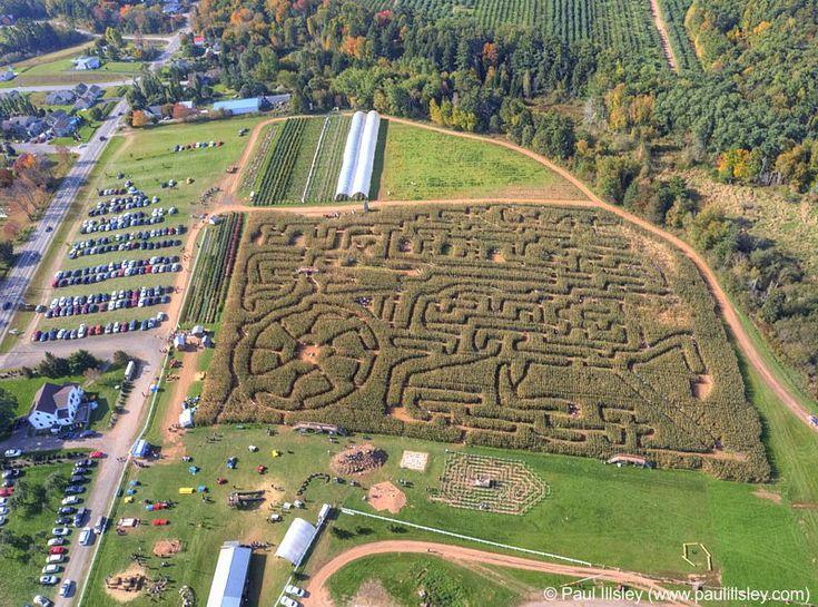 Aerial images of Kings County, Nova Scotia, Canada
