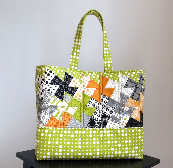 Image of Simply Charming Twister Tote Downloadable PDF