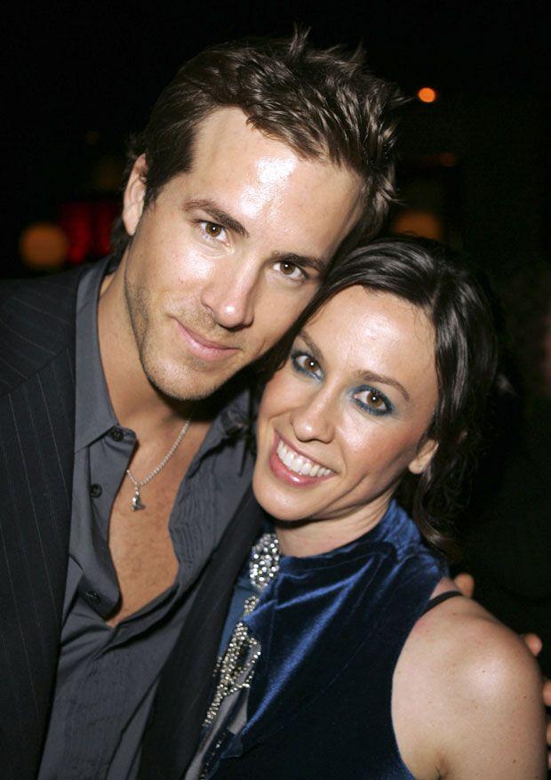 Ryan Reynolds & Alanis Morissette were together 2002-2007